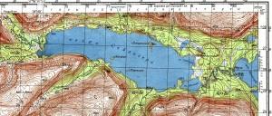 Сейдозеро, топографическая карта, размеры: 1600 × 683